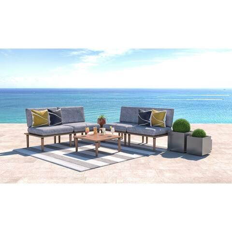 Arlo Sectional Sofa & Table Set