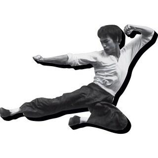 Aquarius Bruce Lee Kick Funky Chunky Magnet