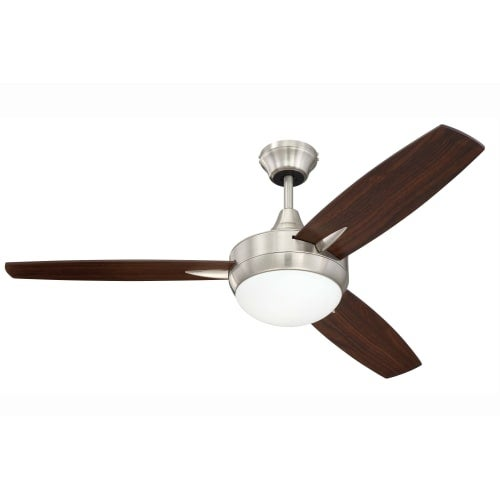 """Craftmade TG483 Targas 48"""" 3 Blade Ceiling Fan - Blades, Wall Control and Light Kit Included"""