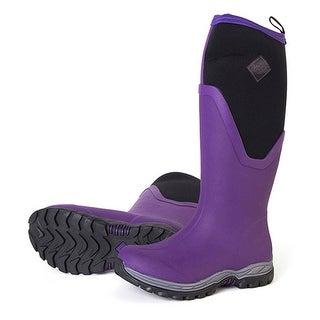 Muck Boots Purple Arctic Sport II Tall Boot w/ Warm Fleece Lining - Women Size 7