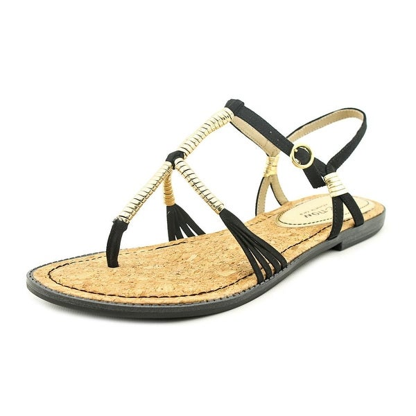 Kenneth Cole Reaction Slab A Dab Women Black Sandals