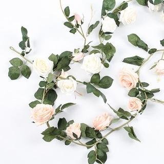 "FloralGoods Artificial Australian Rose Vine 71"" Long"