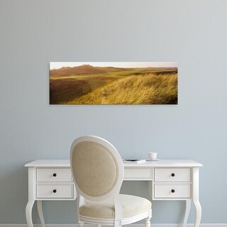 Easy Art Prints Panoramic Images's 'Panoramic view of a landscape, Scotland' Premium Canvas Art