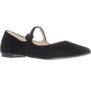 Marc Fisher Womens Stormy2 Pointed Toe Mary Jane Flats