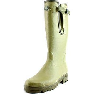 Le Chameau Vierzon Cuir Round Toe Synthetic Rain Boot