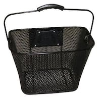 Evo E-Cargo Quick Release Steel Mesh Traveler Bicycle Handlebar Basket - HT-512
