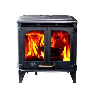 HiFlame HF577DU 85,000BTU/h Extra Large Wood Stove with Double Doors