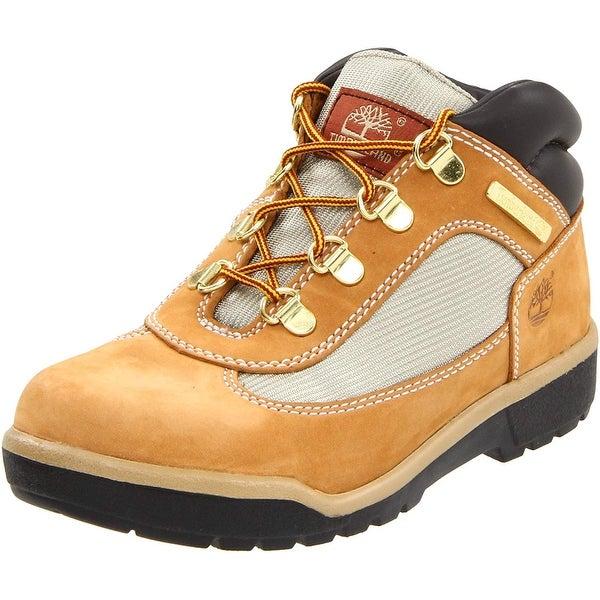 Timberland Womens EURO HIKER Fabric Round Toe Ankle Fashion Boots