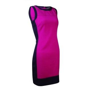 Lauren Ralph Lauren Women's Sleeveless Colorblocked Dress