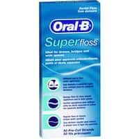 Oral-B Superfloss Dental Floss 50 Each