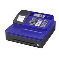 Casio Cash Register for Small/Medium Sized Retail Businesses (Blue)