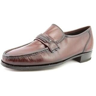 Florsheim Como Men B Moc Toe Leather Burgundy Loafer