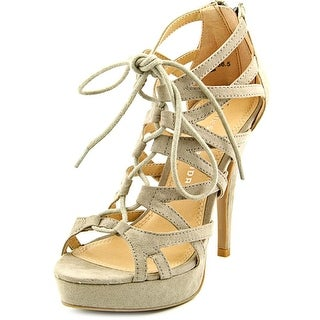 Chinese Laundry Hopscotch Sandal Women  Open Toe Synthetic Tan Platform Sandal