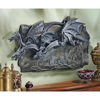 Design Toscano Halloween  Morgoth Castle Dragons Wall Sculpture