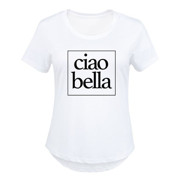 a8e5f78f Shop Ciao Bella - Ladies Plus Size Scoop Neck Tee - Free Shipping On Orders  Over $45 - Overstock - 20401299