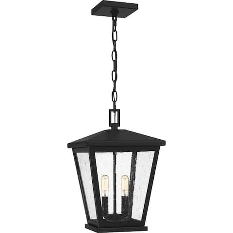 Joffrey Outdoor Hanging Lantern - Matte Black