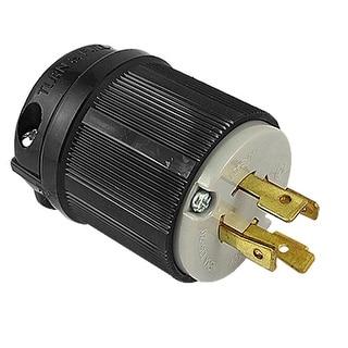 Nema L15-20P 4-Prong Locking Plug Twist Lock Connector AC 250V 20A