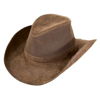 Outback Trading Hat Mens Knotting Hill Mesh Canyonland Brown