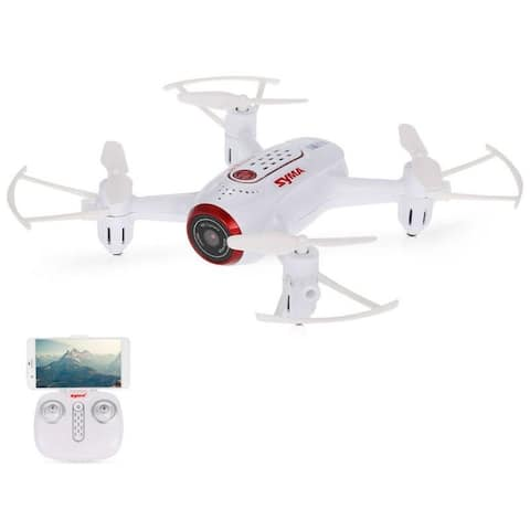 Syma Wifi FPV Pocket Drone HD Camera Headless Mode
