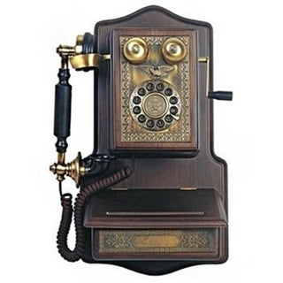 1907 Wooden Wall Reproduction Phone