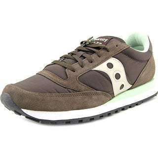 Saucony Jazz Original Round Toe Suede Sneakers