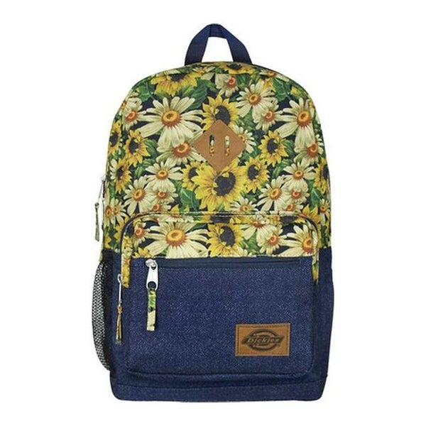 fe140c02216a Dickies Study Hall Backpack Flower Power Printed Denim - US One Size (Size  None