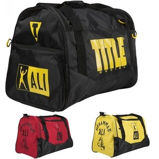 Title Boxing Ali Personal Sports Duffel Bag (Option: Yellow/Black)