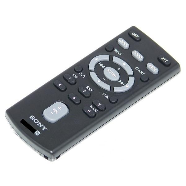 OEM Sony Remote Control Originally Shipped With: CDXGT740UI, CDX-GT740UI, DSXS200X, DSX-S200X, MEXBT39UW, MEX-BT39UW