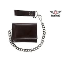 2ad5e1deba4b Shop Flying Eagle Trifold Motorcycle Biker Wallet Chain Bird Eagles ...