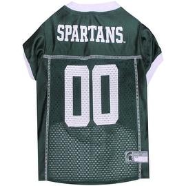 Collegiate Michigan State Spartans Pet Jersey