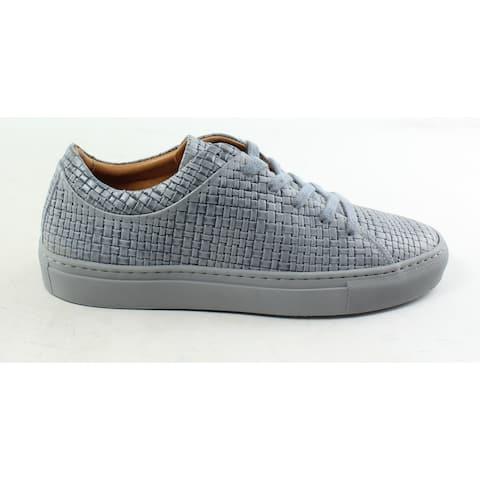 Aquatalia Mens Alaric Medium Grey Fashion Sneaker Size 7