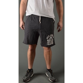 Roots of Fight Jack Johnson Slim Fit Shorts - Black