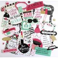 Icons - Fashionista Cardstock Die-Cuts 33/Pkg