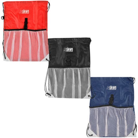 JAWS QuickPACK Drawstring Swim & Sport Gear Organizing Backpack - One Size