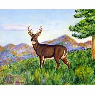 Betsy Drake DM535 Deer In Mountains Door Mat Small