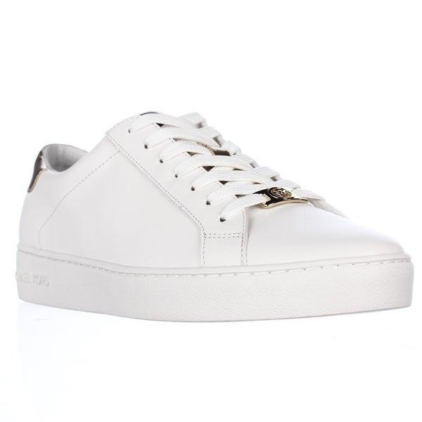 Shop MICHAEL Michael Kors Irving Lace Up Sneakers, Optic White Pale ... 42009e79e73f