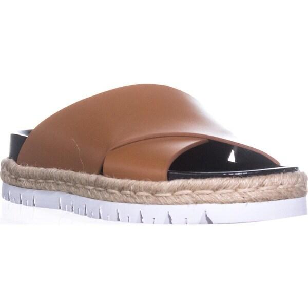 MARNI FBMSW06 Platform Slide Sandals, Brown