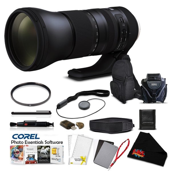 Tamron SP 150-600mm f/5-6.3 Di VC USD G2 for Canon EF Pro Accessory Kit - black