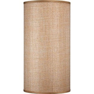 "Volume Lighting V0025 12"" Height Cylindrical Shade"