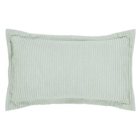 Better Trends Jullian Bold Stripes Design 100% Cotton Tufted Shams Machine Washable Tumble Dry