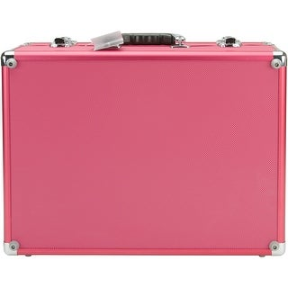Copic Aluminum Case With Shoulder Strap-Red