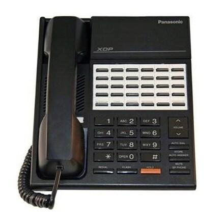 """Panasonic KX-T7220B-R Digital Hybrid Telephone - White"""