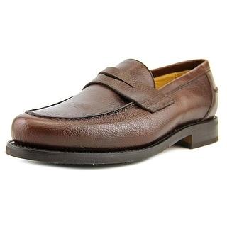 Sebago Ashland Men E Round Toe Leather Brown Loafer