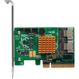 HighPoint ROCKETRAID2720SGL HighPoint 2720SGL 8-port SAS Controller - Serial ATA/600 - PCI Express 2.0 x8 - Plug-in Card - RAID