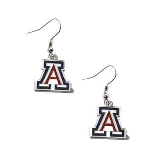 Arizona Wildcats Dangle Logo Earring Set NCAA Charm Gift