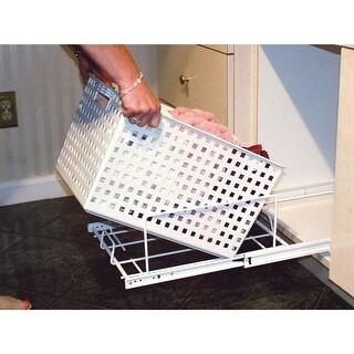 Rev-A-Shelf HUB-470X8 HURV Series Replacement Utility Basket for HURV-1512 S - White