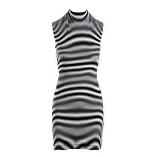 French Connection Womens Striped Sleeveless Casual Dress - 4