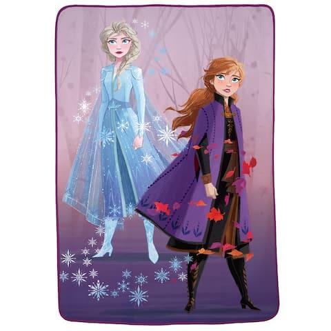 """Frozen 2 """"Swirling Leaves"""" Blanket"""