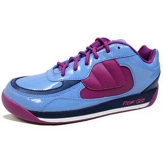 Reebok Men's Round The Way Blue/Navy-Pink-White 4-166773