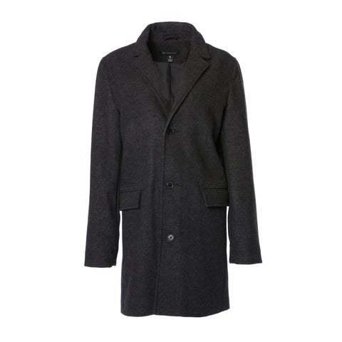 Womens Single Breasted City Coat